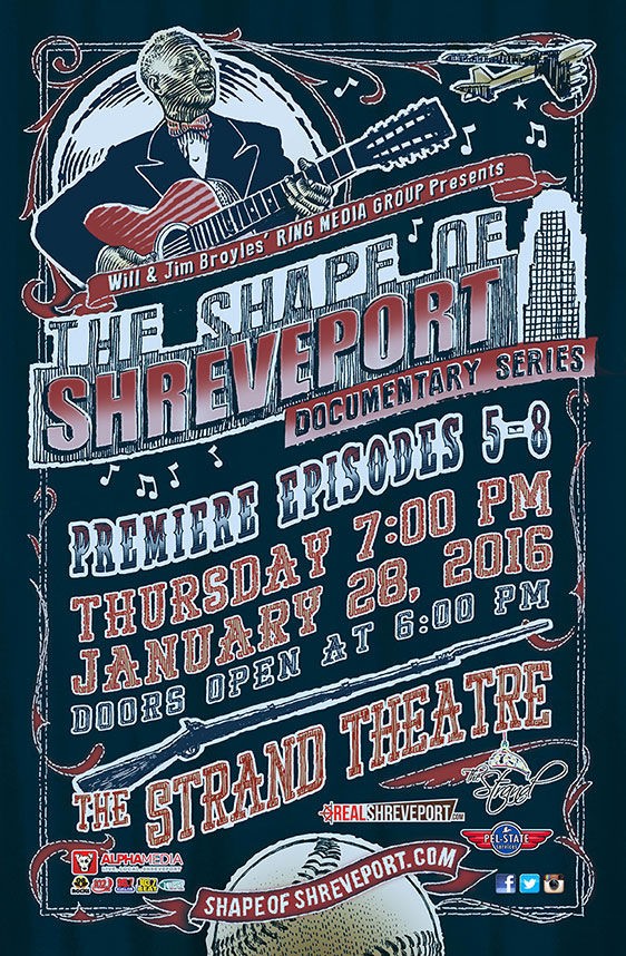 Shape of Shreveport Poster